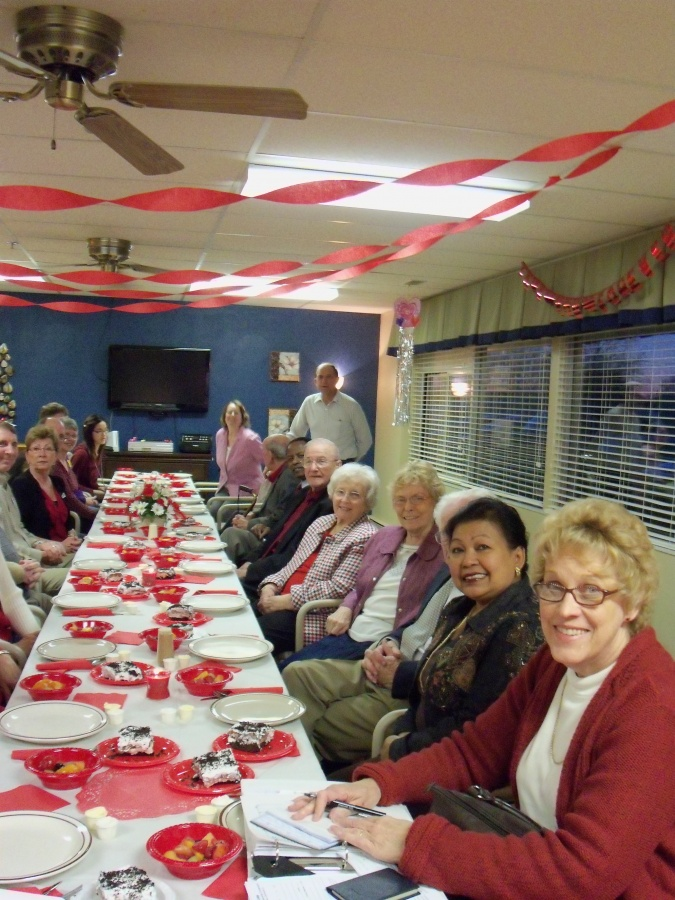 Valentines Day Dinner for Rotary