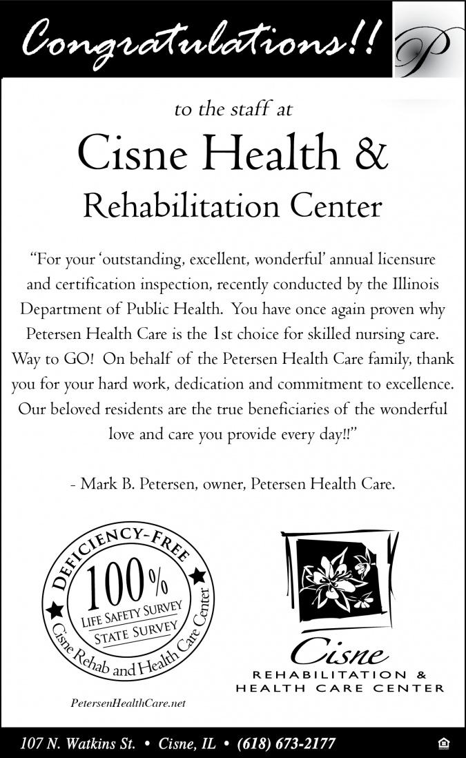 Cisne Rehabilitation & Health Care Center